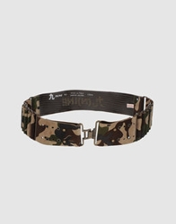 Nine N Ine Belts Military Green