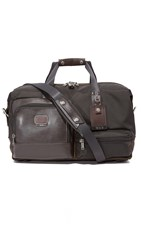 Tumi Alpha Bravo Grissom Travel Satchel Hickory
