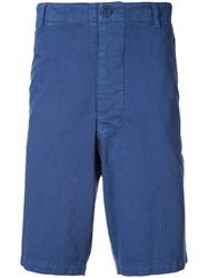 The Elder Statesman Classic Chino Shorts Blue