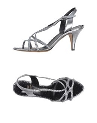 Moschino Cheap And Chic Moschino Cheapandchic Sandals Silver