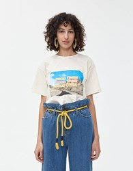 Which We Want Monica Good Times Tee Natural