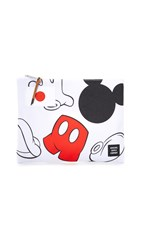 Disney X Herschel Network Large Pouch White Mickey