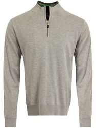Cutter And Buck Vancouver Windblock Sweater Silver