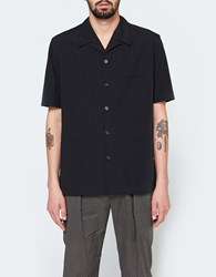 Christophe Lemaire Three Pocket Shirt In Black