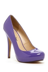 Michael Antonio Love Me Patent Pump Purple