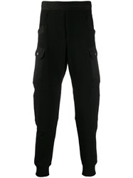 Alexander Mcqueen Relaxed Jogging Trousers Black