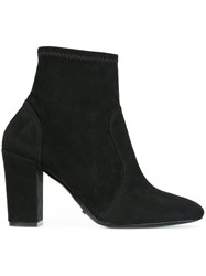 Schutz Panelled Ankle Boots Black