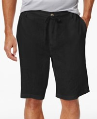 Tasso Elba Drawstring Shorts Only At Macy's Black
