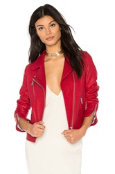 Doma Reed Jacket Red
