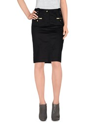 Fay Skirts Knee Length Skirts Women Black