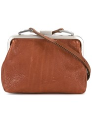 Ally Capellino Dusty Crossbody Bag Brown