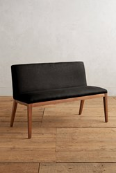 Anthropologie Linen Emrys Bench Black
