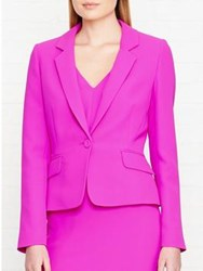 Hobbs Confetti Single Breasted Blazer Confetti Pink