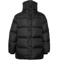 Saturdays Surf Nyc Silas Quilted Nylon Down Jacket Black