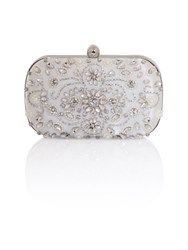 Chi Chi London Coralie Clutch Bag Grey