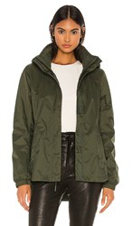 The North Face Resolve Parka Ii In Olive. New Taupe Green