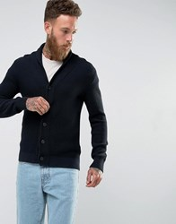 Selected Homme Shawl Collar Cardigan Dark Saphire Navy