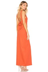 Privacy Please Redondo Maxi Dress Burnt Orange