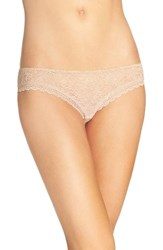 Free People Women's Lace Hipster Briefs Nude