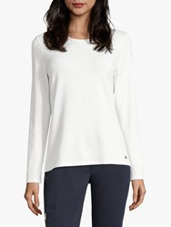 Betty Barclay Long Sleeve T Shirt Off White