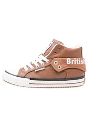 British Knights Roco Hightop Trainers Cognac