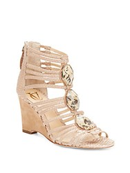 Vince Camuto Emile Wedge Sandals Buff