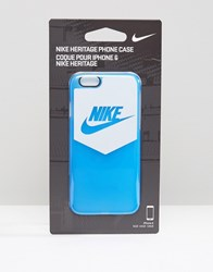 Nike Heritage Iphone 6 Case In Blue Blue