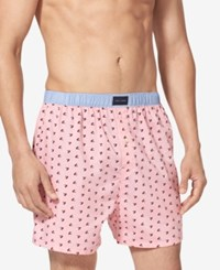 Tommy Hilfiger Men's Printed Woven Boxer Blossom