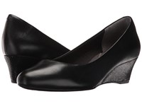 Rockport Total Motion Catrin Black Leather Women's Shoes