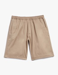 Our Legacy Relaxed Shorts Tan Fine Gaberdine