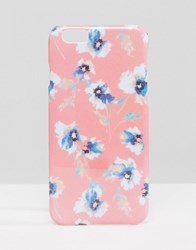 Asos Iphone 6 And 6S Case Floral Case Pink