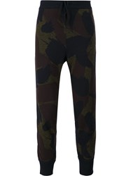 Oamc Camouflage Trackpants Green
