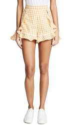 The Fifth Label Idyllic Shorts Buttercup With White