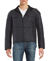 Barbour Lightweight Puffer Coat Black