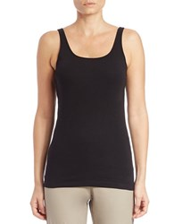 Eileen Fisher Organic Cotton Tank Top Black