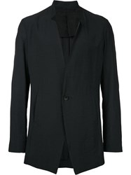 Julius Narrow Lapel Blazer Black