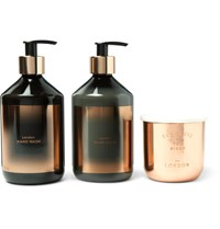 Tom Dixon London Scented Candle Hand Wash And Balm Gift Set One Size Colorless