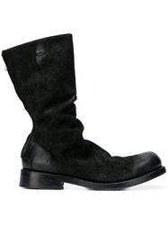 The Last Conspiracy Rear Zipped Ankle Boots Black