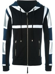 Unconditional 'Tribal Harness' Zipped Hoodie Black