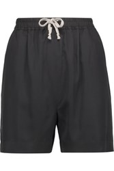 Rick Owens Tech Jersey Shorts Black