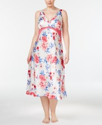 Thalia Sodi Plus Size Floral Print Nightgown Only At Macy's Peonies