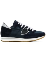 Philippe Model Tropez Basic Sneakers Blue