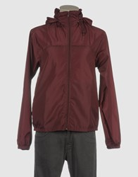 American Apparel Coats And Jackets Jackets Men Maroon