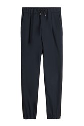 Mcq By Alexander Mcqueen Virgin Wool Pants With Drawstring Waist Multicolor