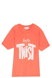 Wildfox Couture Let's Twist T Shirt Red
