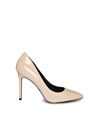Kg By Kurt Geiger Bailey Pale Pink Patent Heeled Court Shoes