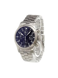 Fortis 'B 42 Flieger Chronograph' Analog Watch Stainless Steel