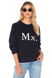 Mother The Champ Sweatshirt Navy