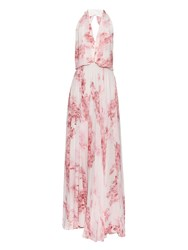 Camilla And Marc Ruby Lane Floral Print Backless Gown