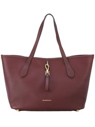 Burberry Brook Tote Red